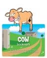 Zwierzęca zakładka do książki - Cow - Krowa