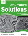 New Matura Solutions Elementary Workbook with CD