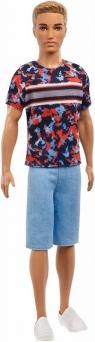 Lalka Barbie Fashionistas Stylowy Ken Hyper Print (DWK44/FXL65)
