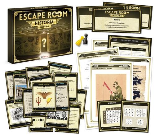 Escape Room Historia