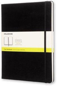 Notes Moleskine XL (19x25cm) gładki, czarna twarda oprawa, 192 strony