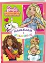 Barbie Naklejam i Koloruję