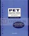 PET Practice Tests New with key