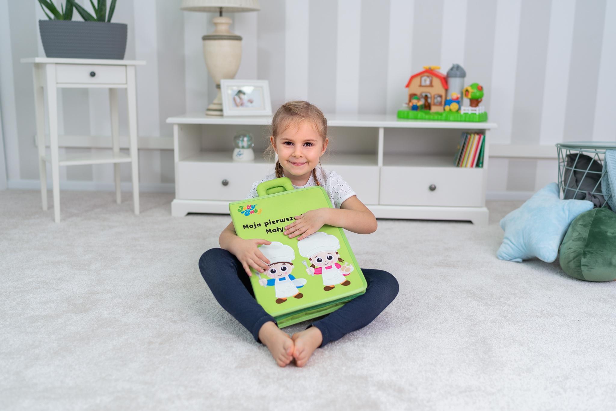 Jollybaby, Moja pierwsza książka - Mały Kucharz (80471)