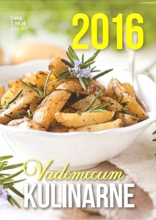 Kalendarz 2016 Vademecum kulinarne