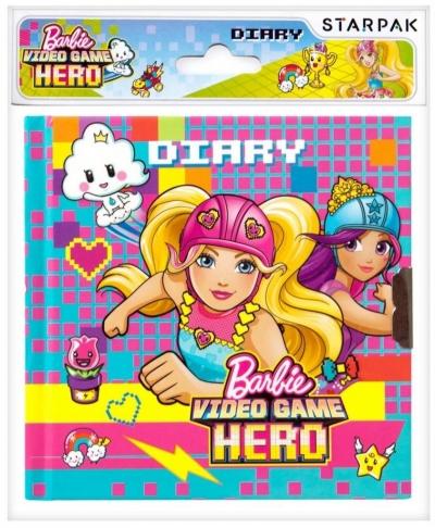 Pamiętnik z kluczykiem Barbie w świecie gier