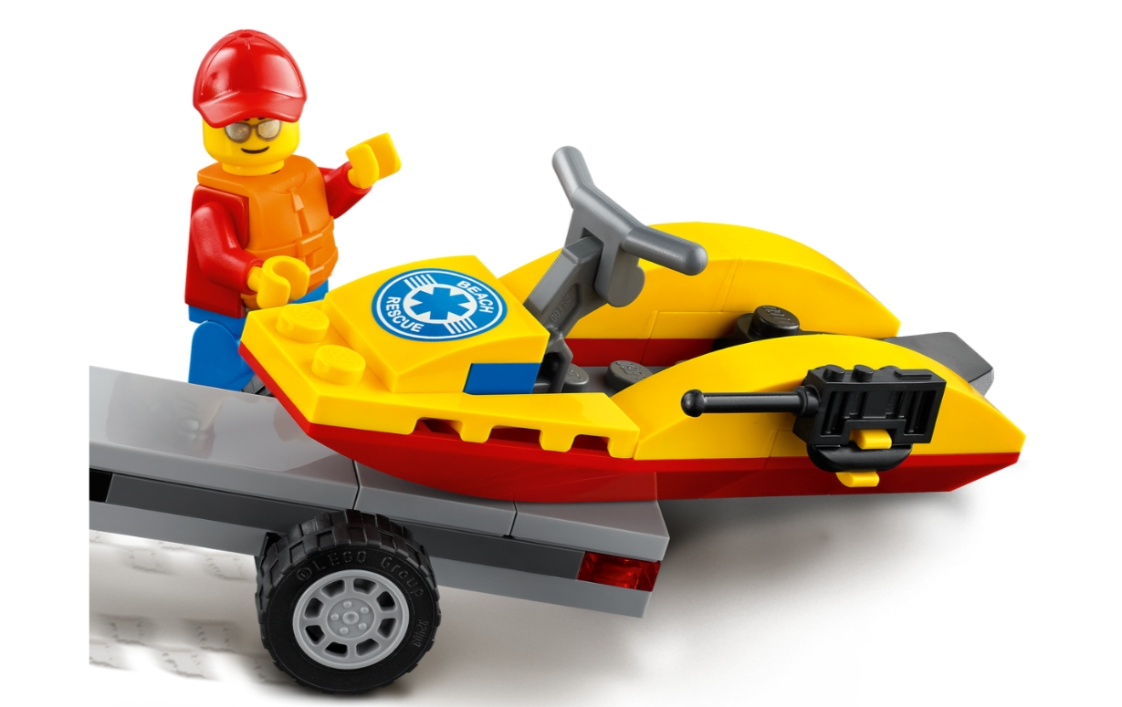 Lego City: Plażowy quad ratunkowy (60286)