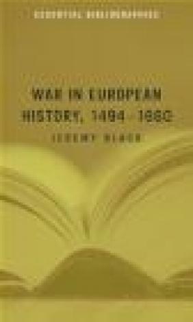 War in European History 1494-1660