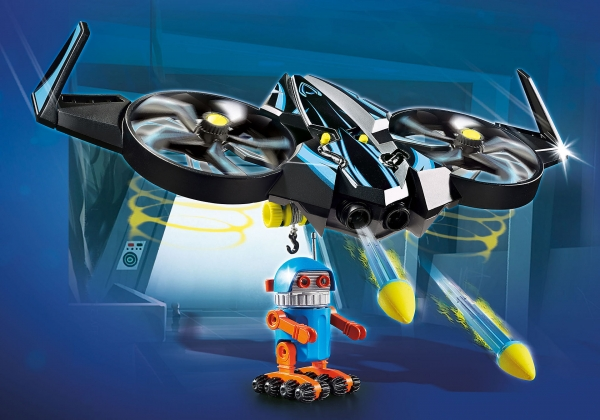 PLAYMOBIL: The Movie Robotitron z dronem (70071)