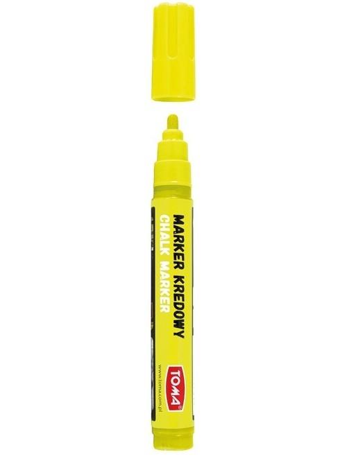 Marker kredowy 4,45mm żółty TO-292