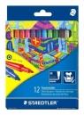 Flamastry szkolne NC 12 kolorów STAEDTLER (S 325 C 12)