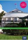 W centrum uwagi 1. Podręcznik do wiedzy o społeczeństwie dla liceum Arkadiusz Janicki, Justyna Kięczkowska, Mariusz Menz