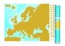 Europa mapa zdrapka 1:9 000 000