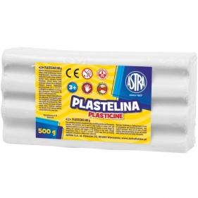 Plastelina Astra 500 g biała (303117002)