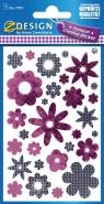 Naklejki foliowe. Kwiaty (57871)