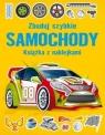 Zbuduj szybkie Samochody. Książka z naklejkami