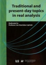 Traditional and present-day topics in real analysis Lipiński Jan Stanisław