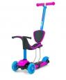 Hulajnoga Scooter Little Star - Różowo-niebieski (24712)od 2 lat