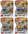 Strażak Sam 2 figurki, 4 rodzaje MIX