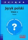 Ściąga Język polski 2