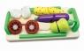 Deska z warzywami do krojenia na rzepy 12 elementów
