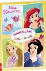 Disney Księżniczka Naklejam i koloruję