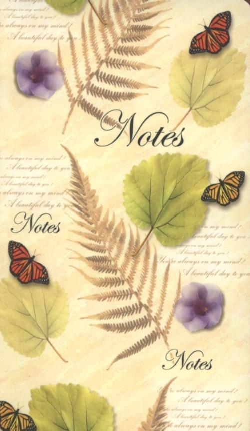Notes bloczkowy ND 112 z długopisem Motyle