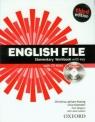 English File Elementary Workbook with key + CD-ROM (Uszkodzona okładka)
