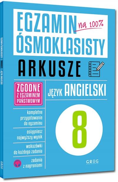 Egzamin ósmoklasisty - arkusze - język angielski Paulina Mełgieś-Szostak, Wioleta Antecka