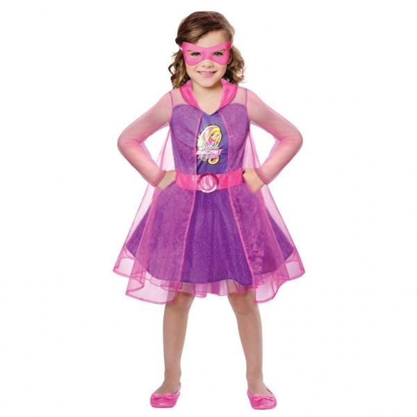 Kostium dziecięcy Barbie Szpieg 5-7 lat (9900425)