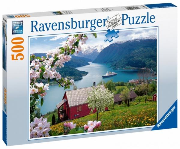 Puzzle 500: Skandynawska Idylla (150069)