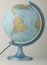 Globus polityczno-fizyczny podświetlany 250 mm