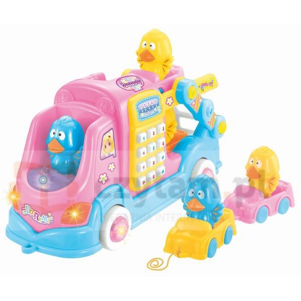 BEPPE Muzyczny samochodzik różowy (12389)