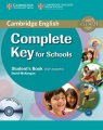 Complete Key for Schools Student's Book with A