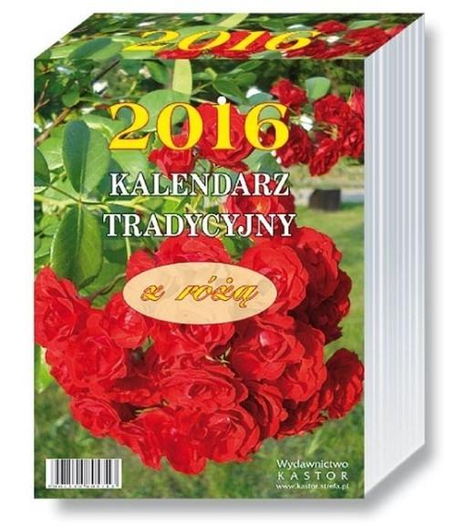 Kalendarz 2016 KL 14 Kalendarz tradycyjny z różą