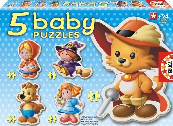 EDUCA BABY PUZZLE FAIRY TAILES Out 2014