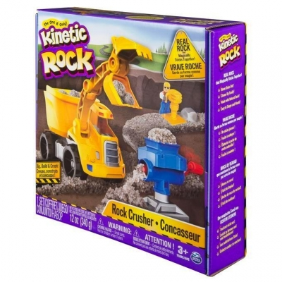 Kinetic Rock: kruszarka