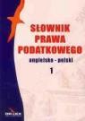 Słownik prawa podatkowego angielsko-polski / Słownik prawa polsko-angielski Kapusta Piotr