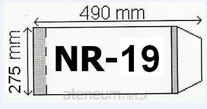 OKLADKI NA PODRECZNIK A4 REGULOWANE NR.19 - 275mm OPAKOWANIE 50 SZT 19