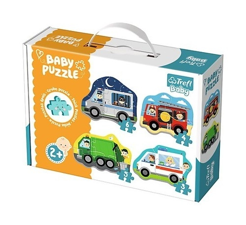 Puzzle Baby Classic: Pojazdy i zawody (36071)