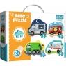 Puzzle Baby 4w1: Pojazdy i zawody (36071)