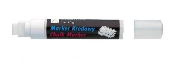 Marker kredowy 8x5 mm Biały 291