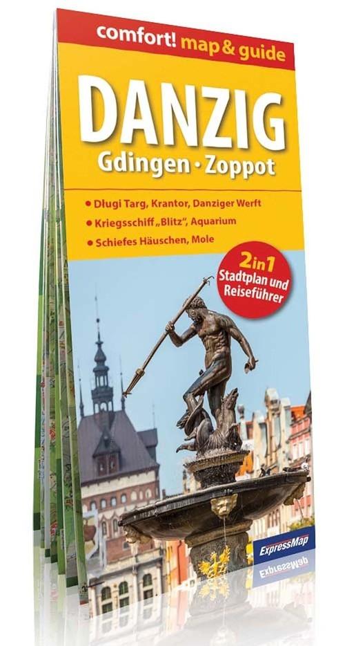 Danzing Gdingen Zoppot 2w1 Przewodnik i mapa