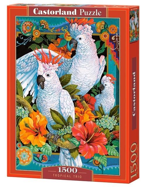 Puzzle Tropical Trio 1500