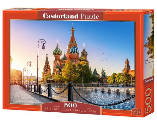 Puzzle Saint Basil's Cathedral, Moscow 500 (B-52714)