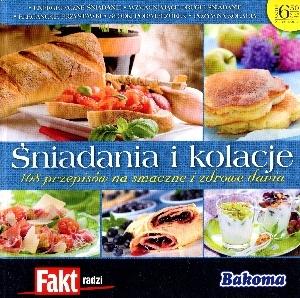 niadania i kolacje. 108 przepisów na smaczne i zdrowe dania. Fakt radzi 4/2012 praca zbiorowa