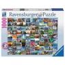 Puzzle 1000: 99 pięknych miejsc na Ziemi (193714)