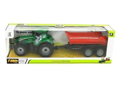 Traktor Adar z przyczepą na napęd (504066)