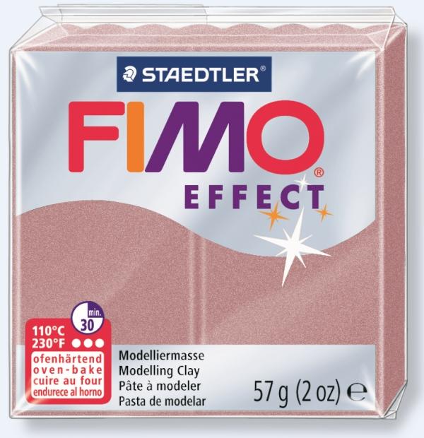 Fimo soft masa termoutwardzalna różany perłowy (8020-207)