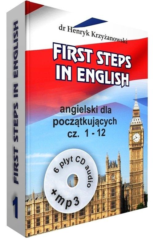 First Steps in English 1 +6CD+MP3 Krzyżanowski Henryk
